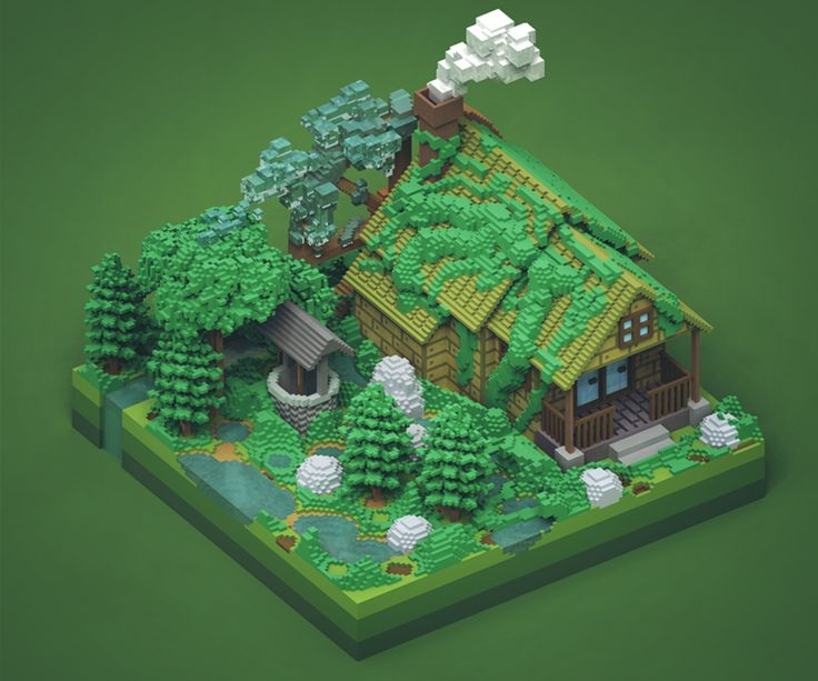 voxel art - Google Search                                                                                                                                                                                 More