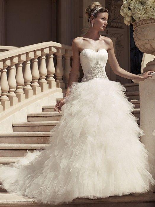 1000  images about Wedding Dresses on Pinterest - Casablanca ...