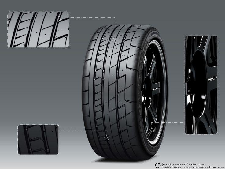 Bridgestone Tire by ~MauricioMassami on deviantART