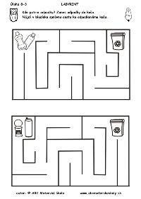 labyrint -kde patria odpadky