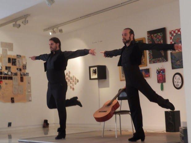 Reflejo. Javier Martos y Raimundo Benítez. Asalto a los Museos en el Día Internacional de la Danza 2014.