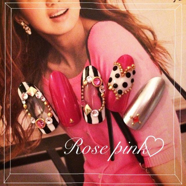 ネイル 画像 Chiara♡Nail -キアラネイル- 862331 ピンク 春