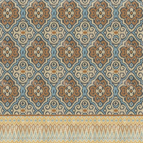 Persian Patchwork Antique II Shower Curtain – Laural Home