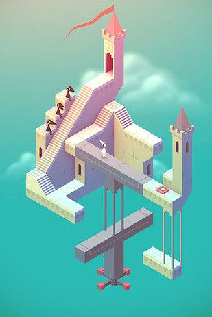 Monument Valley | 30 Insanely Addictive Game Apps You've Never Heard Of