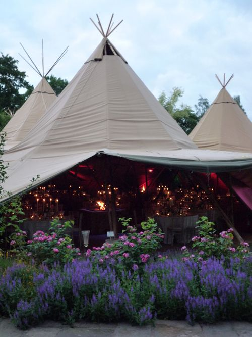 Teepees & twinkly lights