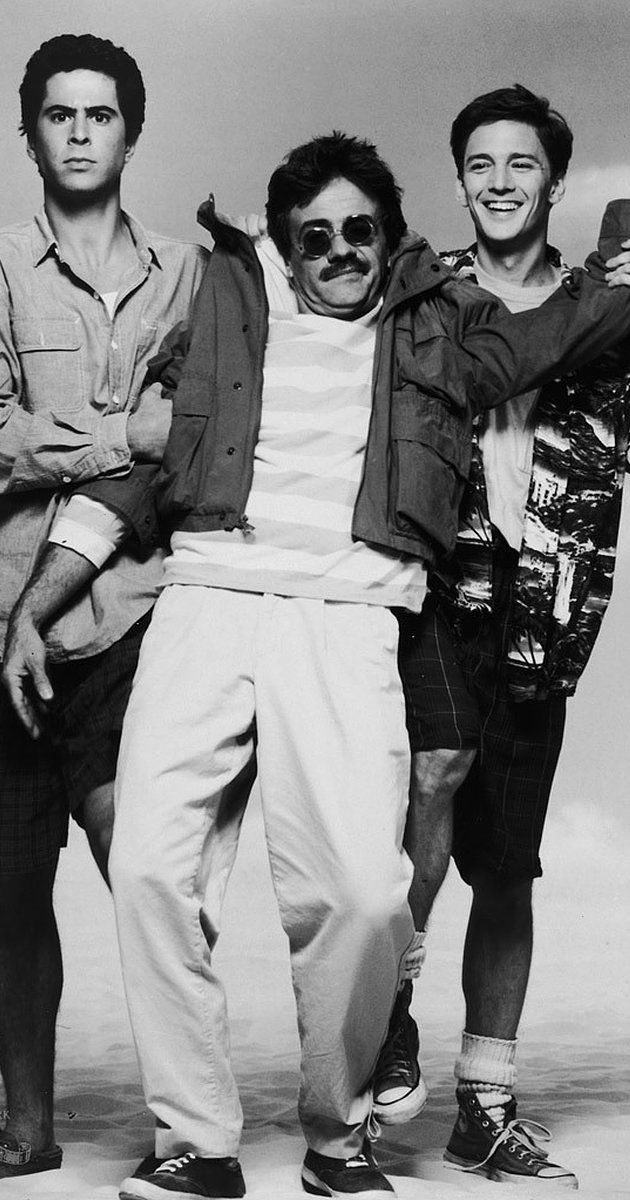 "Jonathan Silverman, Terry Kiser, and Andrew McCarthy -- ""Weekend at Bernie's"""