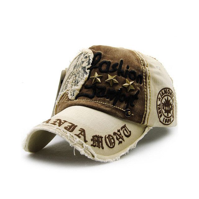 vintage style distressed baseball cap new autumn caps men women fashion hats summer spring for sale