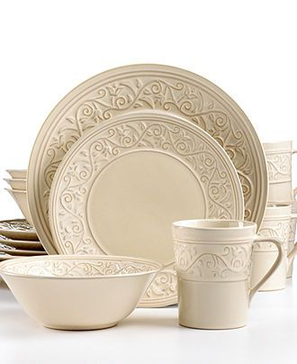 44 best Cream Dinnerware images on Pinterest | Dish sets ...