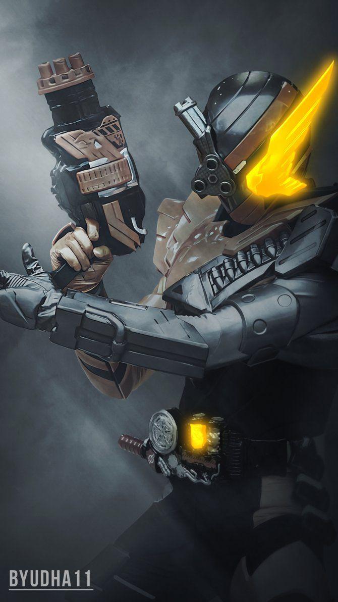 Kamen Rider Build : Hawk Gatling Wallpaper by Byudha11