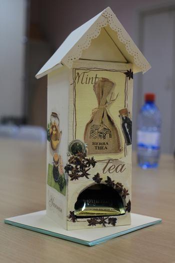 Домик для чайных пакетиков / House for tea bags
