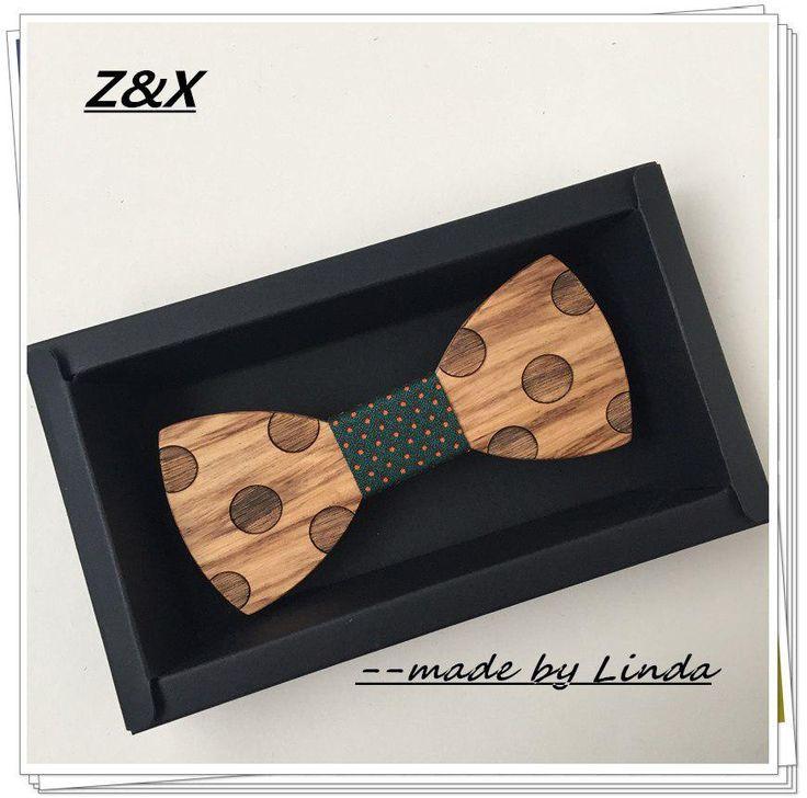 Original wooden bow tie , men's tie, gift present for boyfriend, gentleman, trendy school accessories kid. Yesterday's price: US $10.00 (8.81 EUR). Today's price (January 17, 2019): US $8.20 (7.30 EUR). Discount: 18%. #Ties #Detachable #Collar #present #wooden