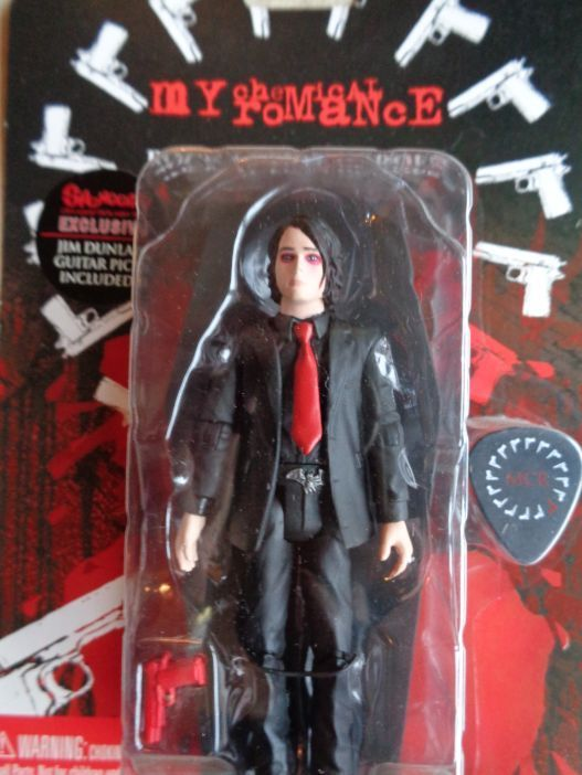 SEG Toys My Chemical Romance Gerard Way Action Figure Spencer s Dunlop GAT pick
