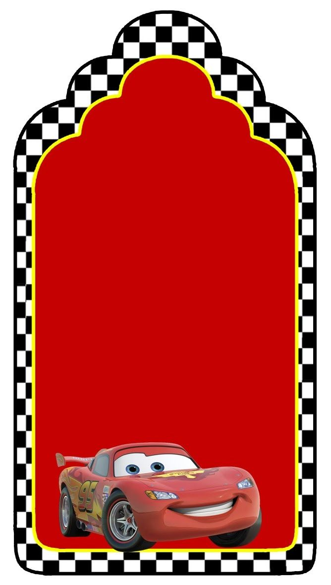 Cars: Etiquetas para Candy Bar para Imprimir Gratis.