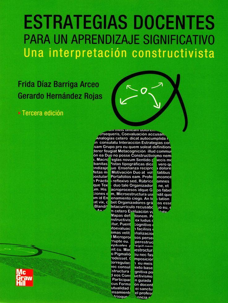 Díaz. Estrategias docentes para un aprendizaje significativo