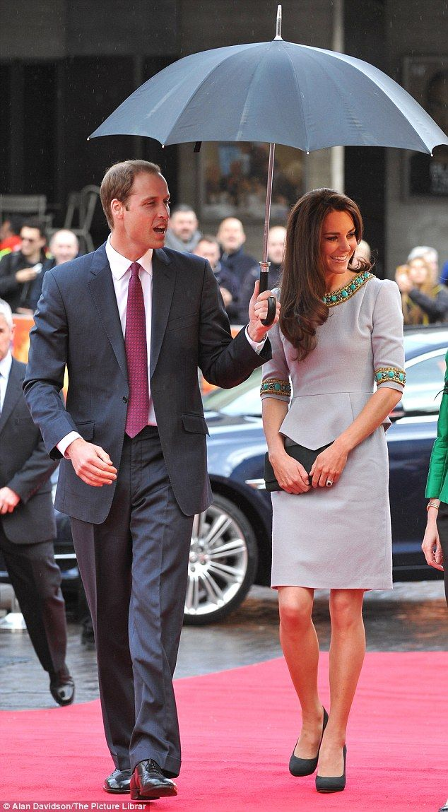 William & Kate at a premiere for a Tusk Trust animal charity documentary- 25/4/12.