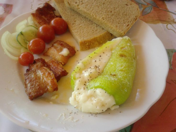 Fotorecept: Grilovaná paprika so syrom
