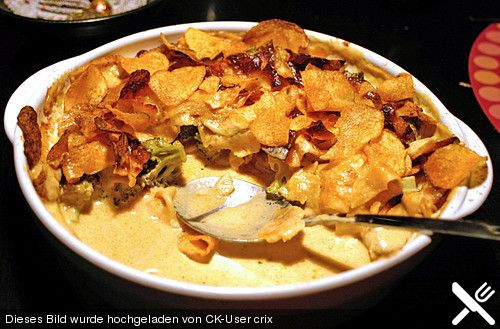 Brokkoli - Huhn mit Kartoffelchips (Rezept mit Bild) | Chefkoch.de