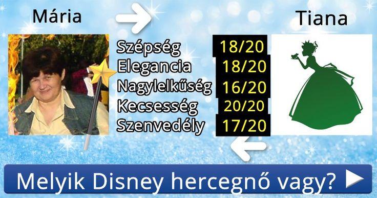Melyik Disney hercegnő vagy?