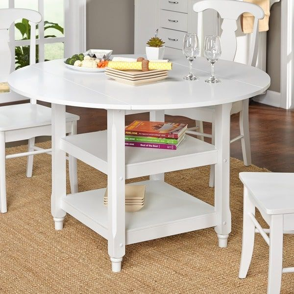 white dining room table with brown chairs round sets off kitchen simple living cottage decor ideas