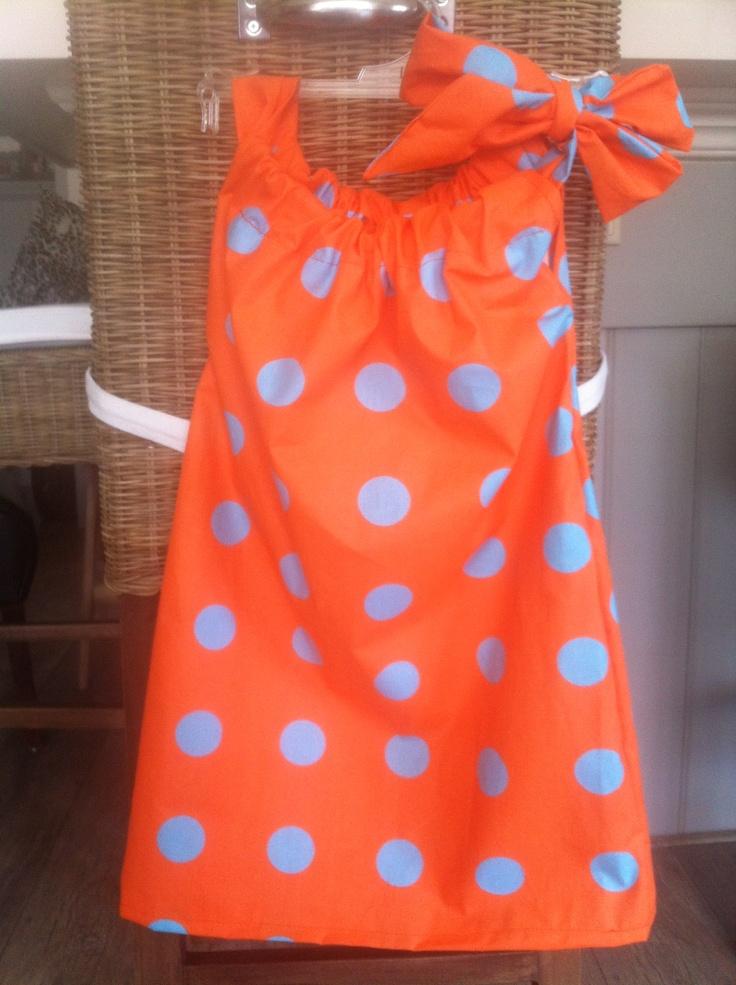 Pillowcase dress DIY sew sy barnklader Pinterest Barnklader och Sy