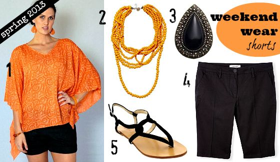 Spring 2013 wardrobe essentials | Weekend and casual wear | shorts