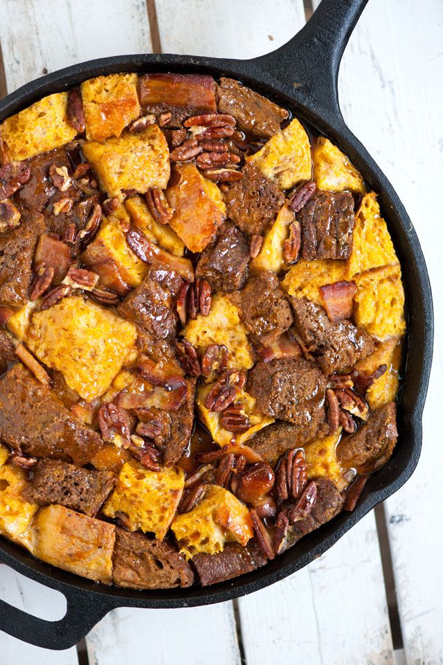 Baked Pumpkin French Toast Breakfast Casserole Recipe