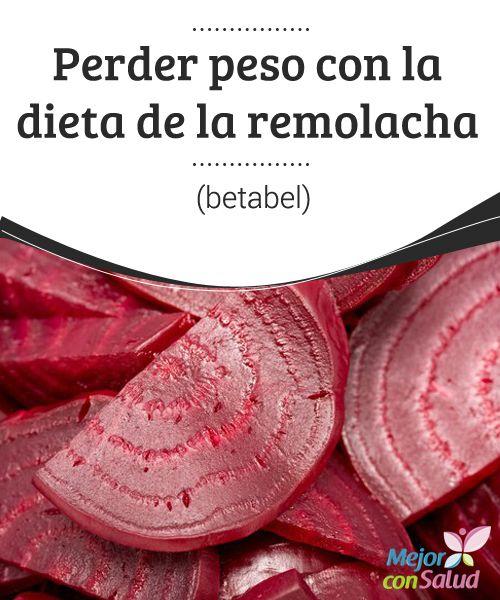 Perder peso con la dieta de la remolacha (betabel) La remolacha es una hortaliza con múltiples beneficios nutricionales. Su uso para las dietas es una forma sana y sabrosa de perder peso. Te lo explicamos.