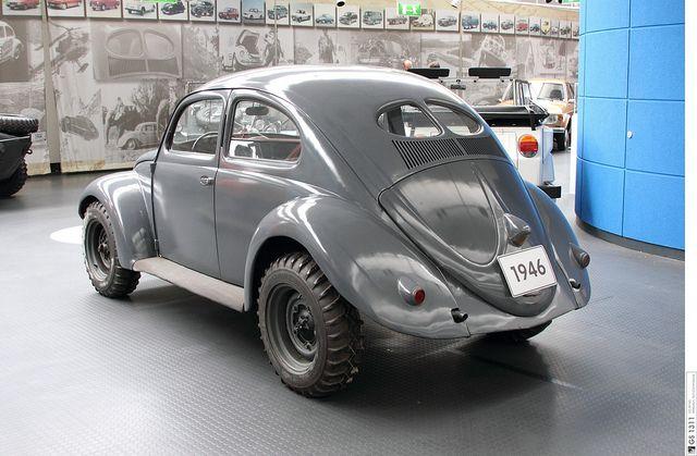 1946 Volkswagen Kommandeurwagen Typ 877 Käfer (02) by Georg Schwalbach (GS1311)