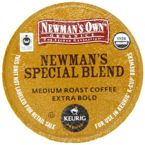 Newman's Own Special Blend Coffee, K-Cup Portion Pack for Keurig K-Cup Brewers (Pack of 80) - http://www.freeshippingcoffee.com/k-cups/newmans-own-special-blend-coffee-k-cup-portion-pack-for-keurig-k-cup-brewers-pack-of-80-5/ - #K-Cups