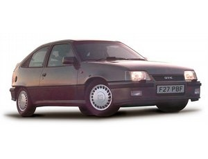 The Corgi Steel Grey Vauxhall Astra Mk2 GTE 16V is a 1/43 diecast model car in the Corgi Vanguard Range. The ultimate incarnation of GM's 'teardrop' Mk2 Astra was the 1988 16-valve GTE. It was a fiercely fast hot-hatch, loud and raw, whilst VW's rival Golf GTI 16v was polished and sophisticated. The GTE appealed to buyers who liked their steak rare and their dashboard digital. This model of the Vauxhall Astra Mk2 GTE 16V is made from new toolings.