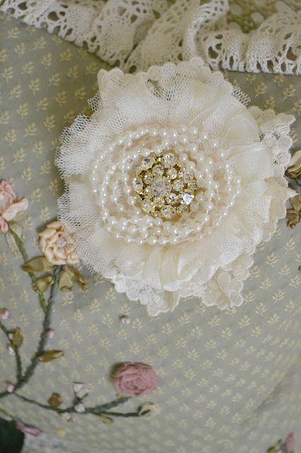 Jennelise: Roses, Lace, and Pearls