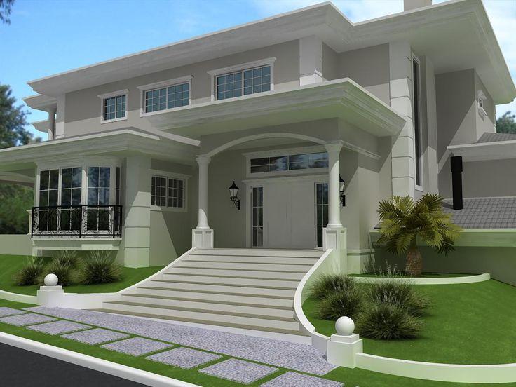 Proyectos costafizinus arquitetos casas de dos plantas for Proyectos casas modernas