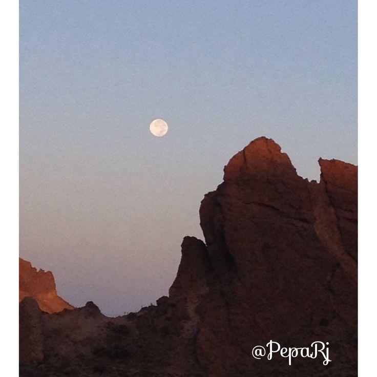 Gran Luna 11 agosto En Valle de Ucanca