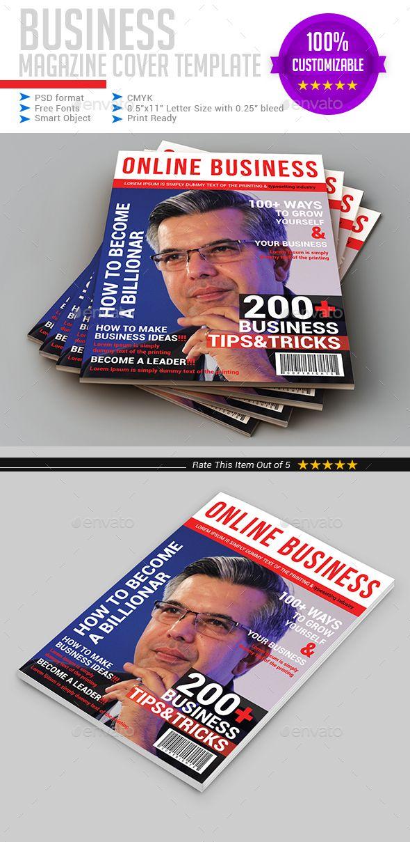 Best 25+ Magazine cover template ideas on Pinterest   Print design ...