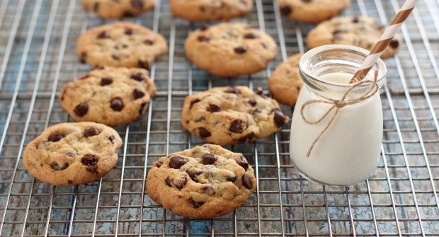 Natural Cooking Club |   Chewy Chocolate Chips Cookies