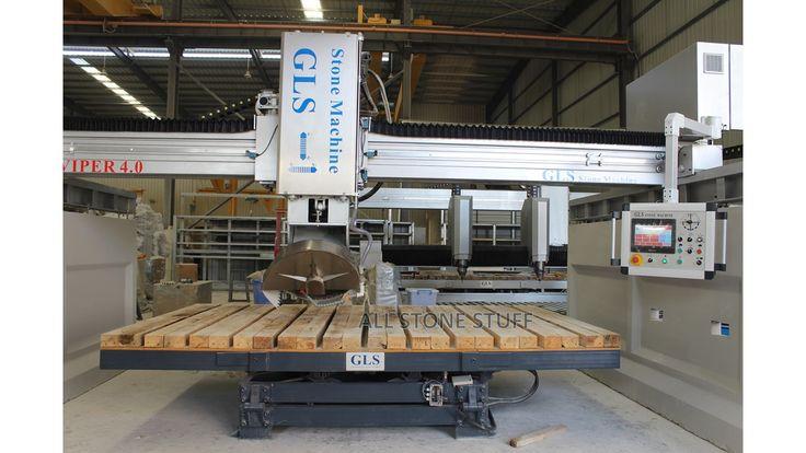New 2020 GLS VIPER V700 Bridge Saw Tilt table