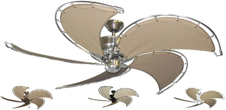 Nautical Raindance Ceiling Fan w/ 52