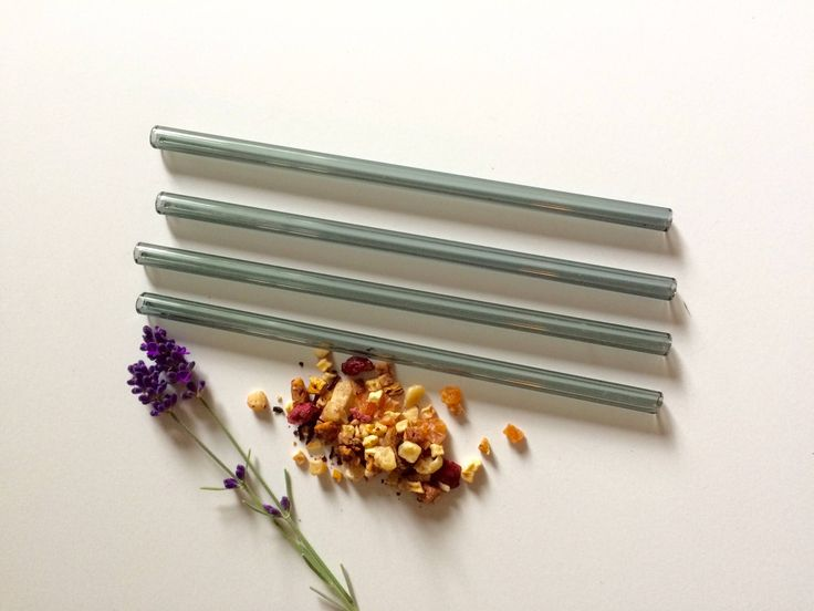 Glass Straws • Reusable Straw • Smoothie Straw • Eco Friendly • A personal favorite from my Etsy shop https://www.etsy.com/ca/listing/588181115/glass-straws-in-smokey-grey-set-of-four