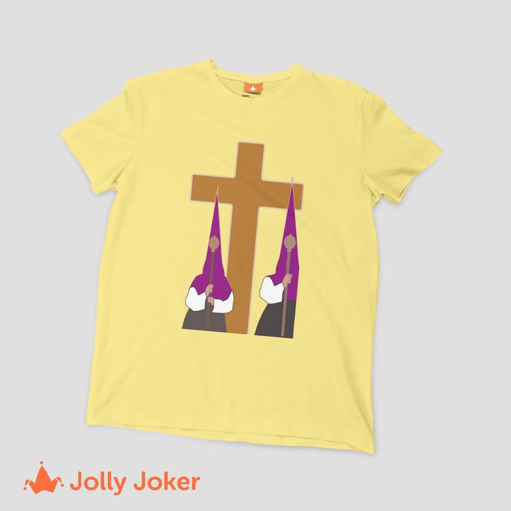 Quien ha estado en una procesión en Semana Santa. Solo ellos podrán entender esta imagen! Camisetas personalizadas cristianas super divertidas