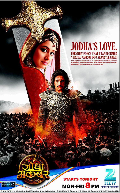 Jodha Akbar Rajat Tokas Paridhi Sharma Zee TV