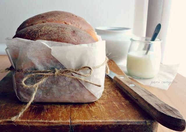 Pan brioche con crema di nocciola