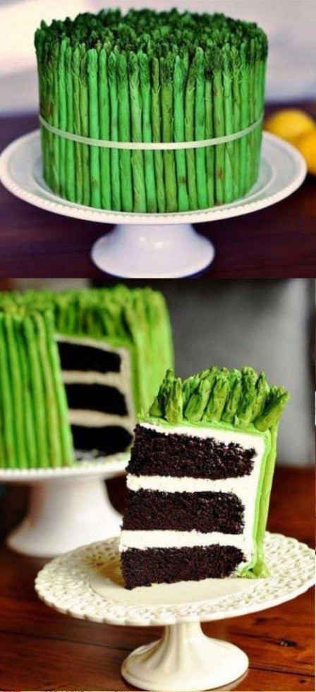 Tell your kids you're going to have asparagus for dessert.