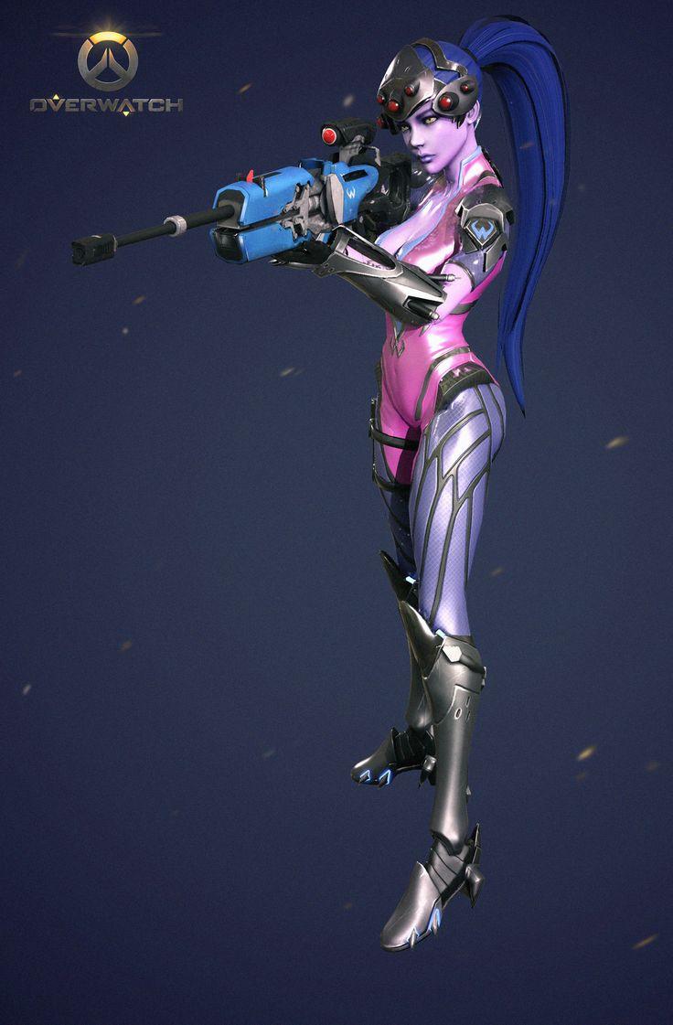 overwatch_widow maker, kim yeong gyu on ArtStation at https://www.artstation.com/artwork/o8glw