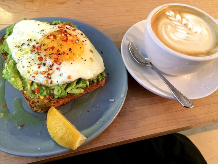 Avocado Toast and a flat white at Two Hands NYC, an Australian cafe || via @rtwgirl http://www.rtwgirl.com/food-favorites-nyc/