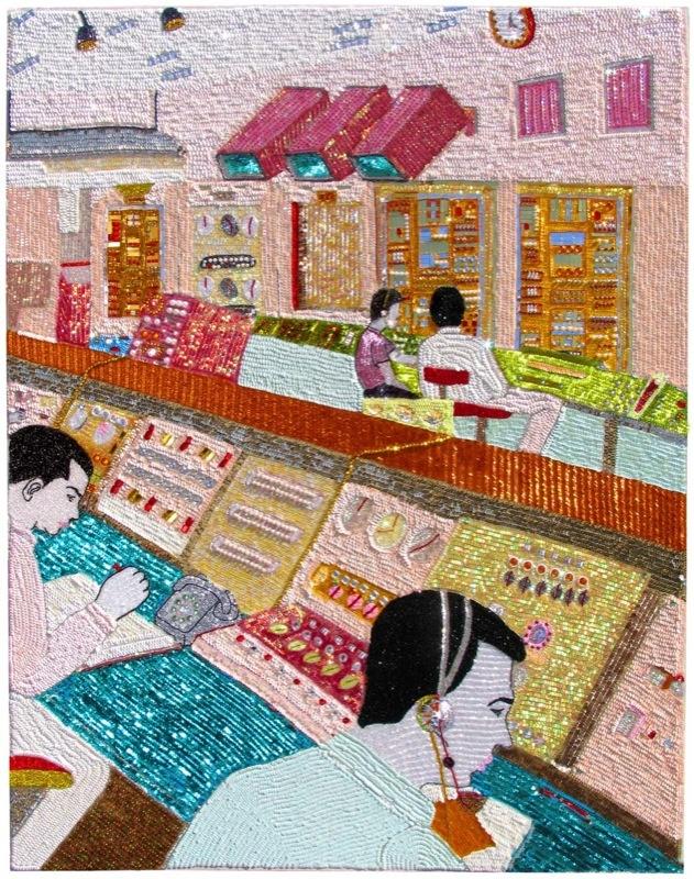 Farhad Moshiri, 2005 Courtesy: Galerie Perrotin, Hong Kong & Paris