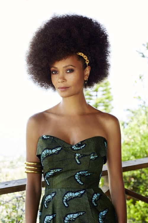 Thandie Newton's Hair In Her New African Woman Magazine Spread is Everything