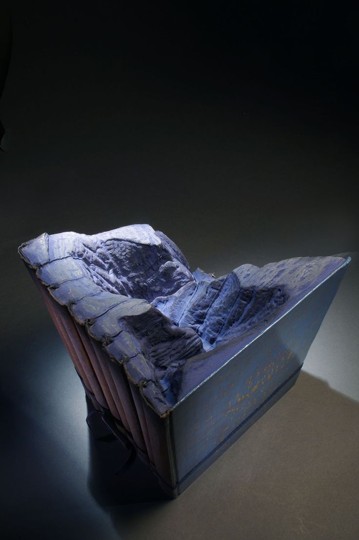 Magnificent New Carved Book Landscapes And Architecture By Guy Laram�e   Colossal