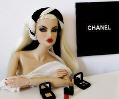 =): Coco Chanel, Barbie Girls, Chanel Barbie, Beautiful Dolls, Fashion Barbie, Fashion Dolls, Barbie Dolls, Barbie Chanel, Chanel Dolls