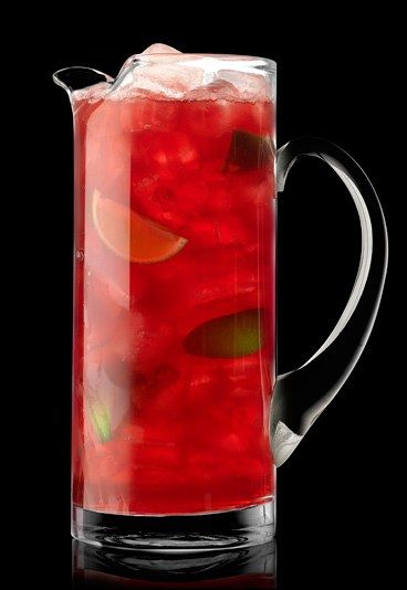 Berry Spring Cooler - Non-alcoholic punch recipes: Perfect for parties
