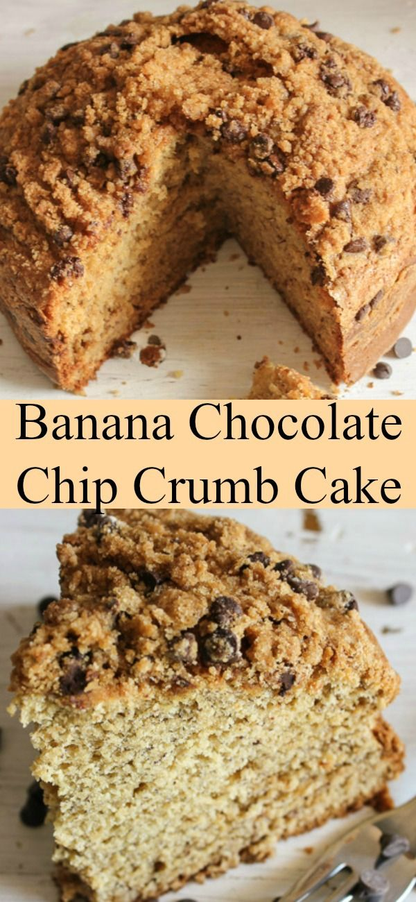Banana crumb cake recipes